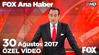 Erdoğan, Arakan'a acil müdahale istedi!  30 Ağustos 2017 FOX Ana Haber