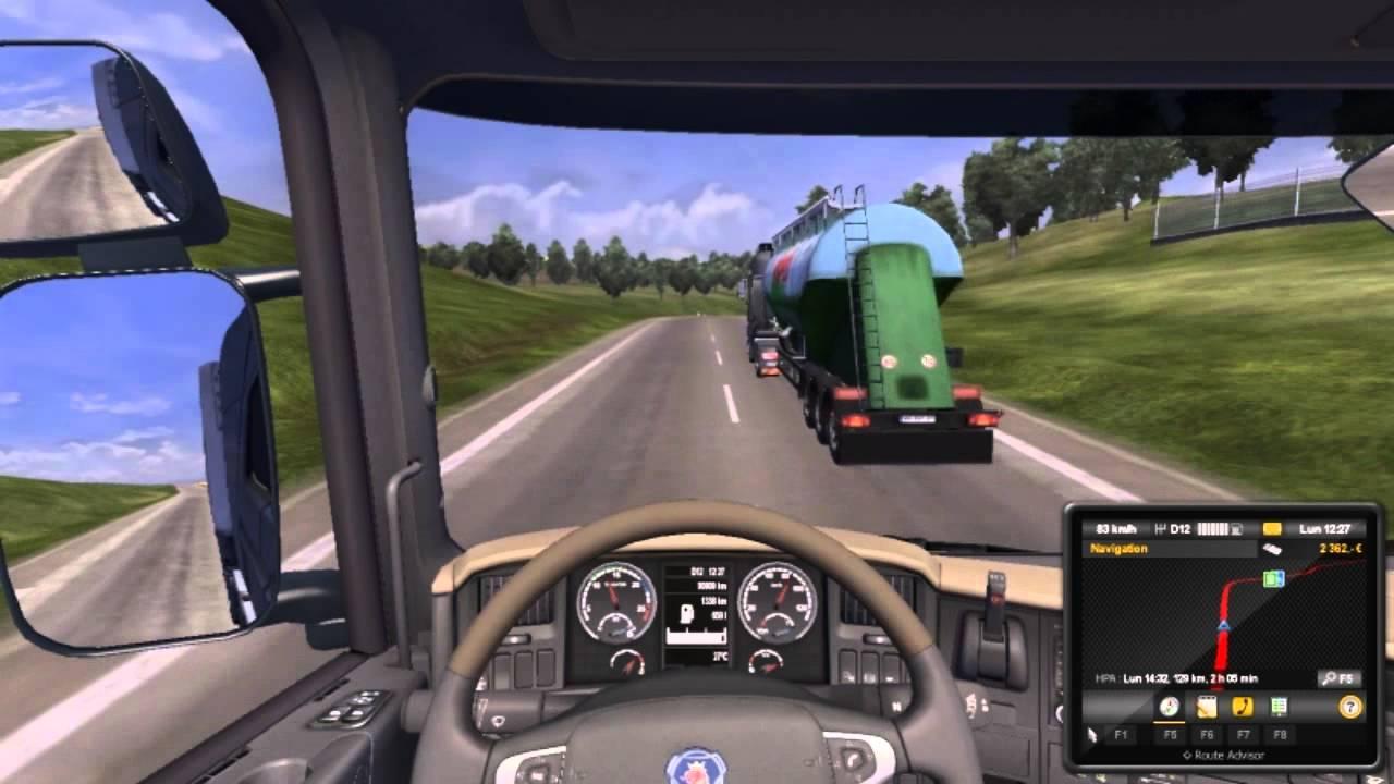 euro truck simulator 2 ou drifter en camion fr youtube. Black Bedroom Furniture Sets. Home Design Ideas