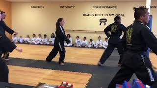 Black Tiger Martial Arts Belt Test December 2017