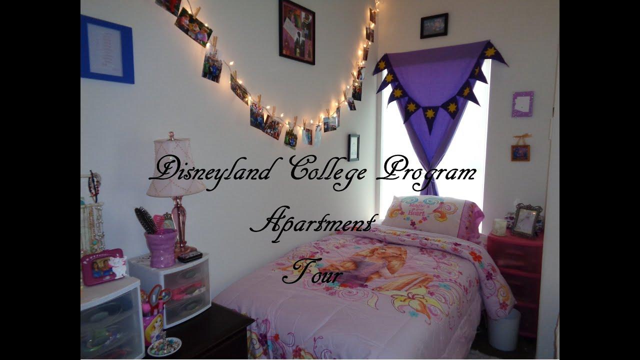 Disneyland College Program Apartment Tour Carnegie