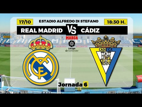 REAL MADRID VS CADIZ EN DIRECTO   REACCION FAN DEL BARCELONA EN VIVO LA LIGA SANTANDER