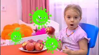 Anabella and the Children's Story about viruses : Kids Stay at Home