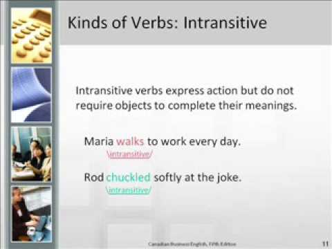 Types of Verbs Audio PowerPoint - YouTube