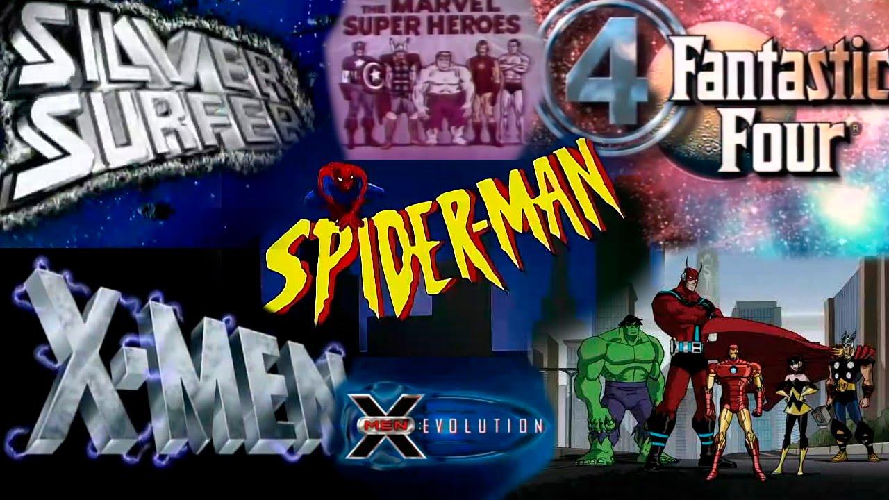 series animadas marvel comics openings temas 60 70 80 90 2000 youtube. Black Bedroom Furniture Sets. Home Design Ideas