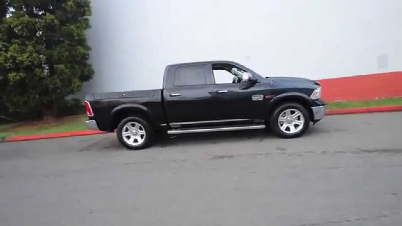 2016 dodge ram 1500 laramie longhorn brilliant black. Black Bedroom Furniture Sets. Home Design Ideas