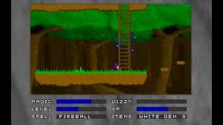 Obscure DOS Games: Dark Wolf (Lonely Mountain, Town of Karax, Forest of Elves)