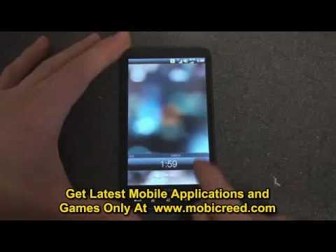Original HTC HD Mini Unlock Screen on an HD2