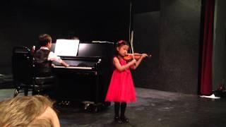 Minuet 3 Bach, Annamarie (Violin) Alexander (Piano)