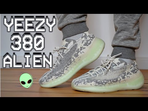 YEEZY 380 ALIEN REVIEW + ON FEET - MOST COMFORTABLE YEEZY EVER?