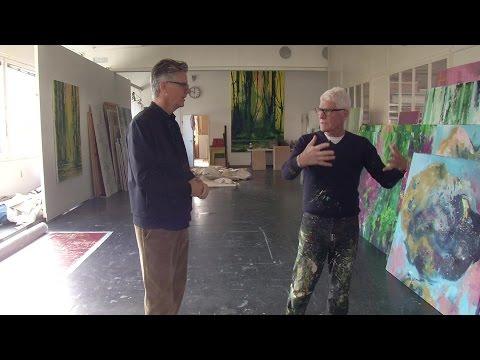 Zu Besuch Bei Künstler Bernd Zimmer