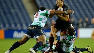 Edinburgh v Benetton Treviso  - Full Match Report 25th Oct 2013