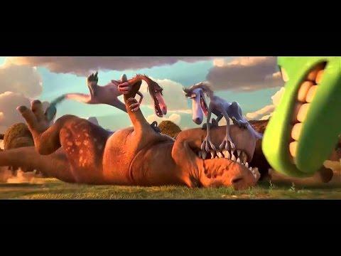 the-good-dinosaur-fighting-!-❲-el-viaje-de-arlo-❳