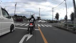 初心者ライダーに役立てて欲しい動画:市街地走行編