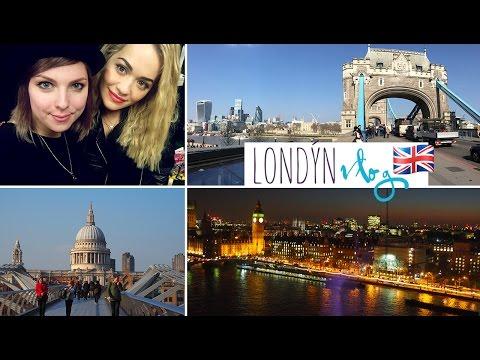 Londýn VLOG – Rita Ora, Rimmel, Youtube Space