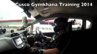 Cusco Gymkhana Training 2014 in Thailand By Mr.Masaki Nishihara