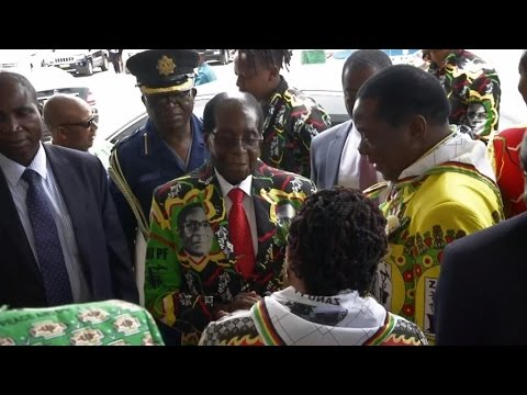 President Mugabe opens Zanu-PF conference amid party tensions