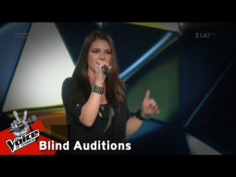 Rachel Cassar - You oughta know | 11o Blind Audition | The Voice of Greece