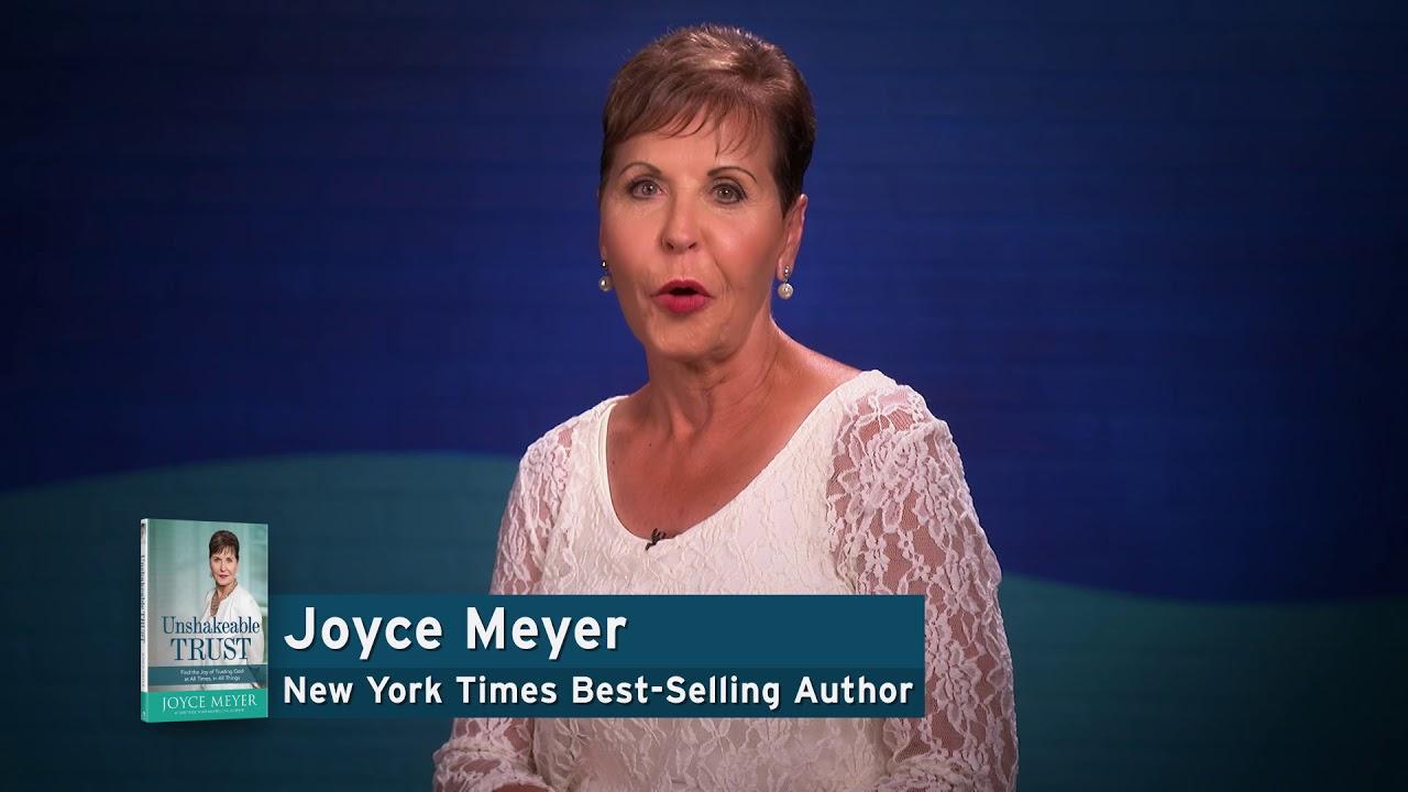 Joyce Meyer's Unshakeable Trust - YouTube