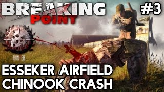 Arma 3 Breaking Point #3 - Esseker Airfield Chinook Crash with Yogscast Panda