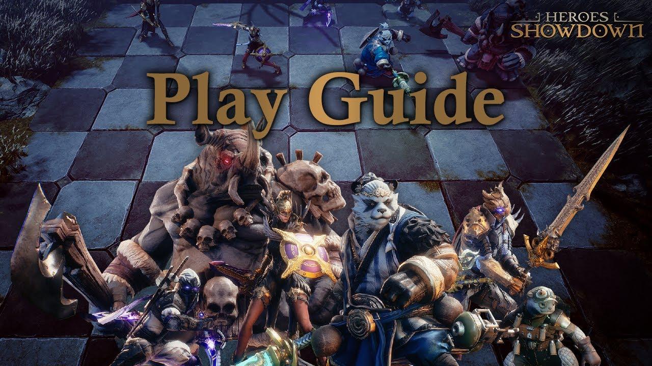 Heroes Showdown: Battle Arena Play Guide | EN Ver. | 히어로즈 쇼다운 플레이 가이드 | 영어 자막