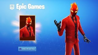 How to Get the NEW SKIN Evil Suit in Fortnite! (New Evil Suit Skin)
