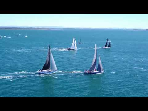 RQYS Club Marine Brisbane to Kepple Tropical Yacht Race 2017 Start