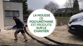 BatiJEM - Isolation par mousse de polyuréthane projetée