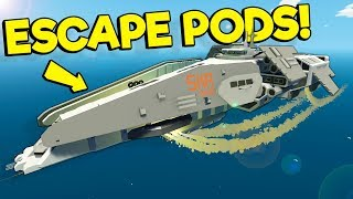 We Played with an Awesome Spaceship with Escape Pods! - Stormworks Multiplayer Survival