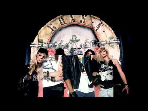 Guns N Roses - You Could Be Mine (lyrics)