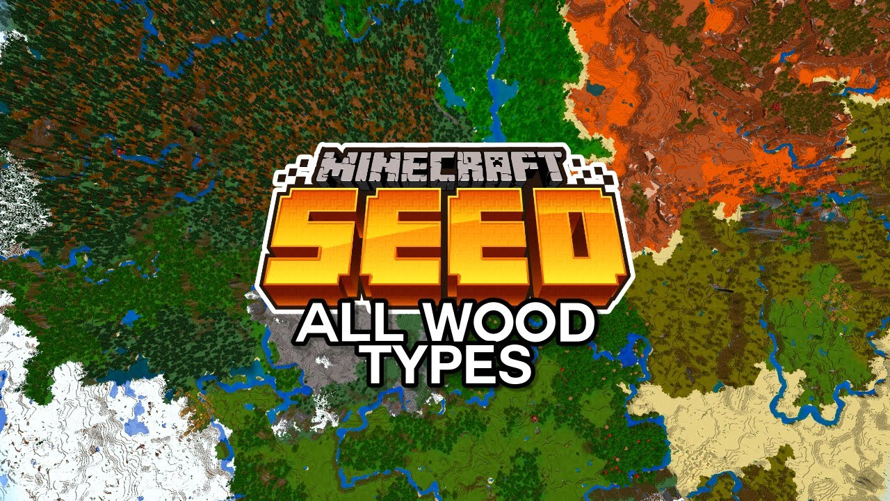 This Minecraft Seed has ALL 6 WOOD TYPES at Spawn! (Minecraft Bedrock Edition 1.16 Seed)