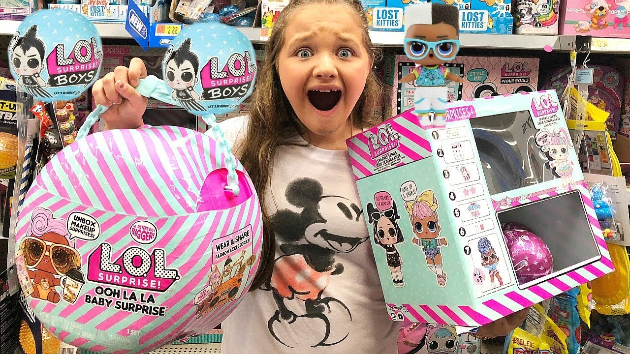 Toy Shopping At Walmart For New Lol Dolls Lol Boys Lol Surprise