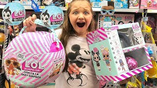 Toy Shopping at Walmart For NEW LOL Dolls, LOL Boys & LOL Surprise Sparkle Surprise Video