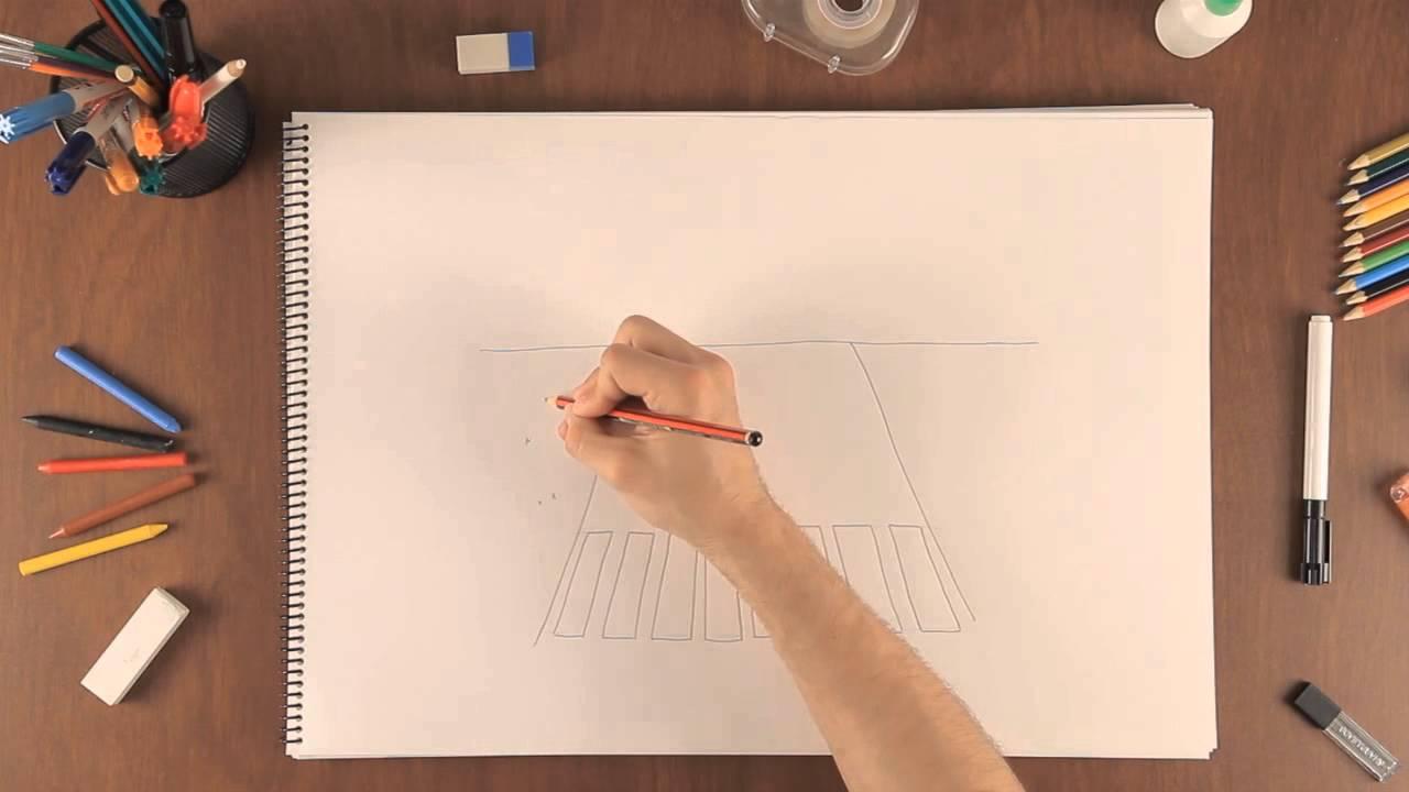 C mo dibujar sendas peatonales aprende a dibujar como un for Dibujar un mueble en 3d