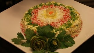 Салат из крабовых палочек! Невероятная вкуснятина, Разлетаются на УРА!
