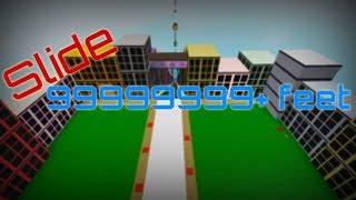 Slide 9999999+ Feet | Roblox | EC Craft Games