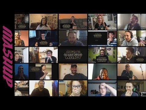 Star Wars: The Force Awakens | Teaser - Reactions Mashup