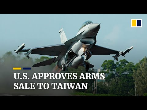 Washington's US$1.8 billion arms sale to Taiwan is first weapons deal of its kind in over 40 years