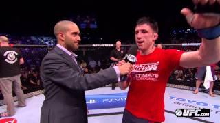 UFC on FX 6:  Whittaker & Parke Octagon Interviews