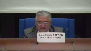Jean-Claude Frécon, newly elected president of the Congress of Local and regional Authorities