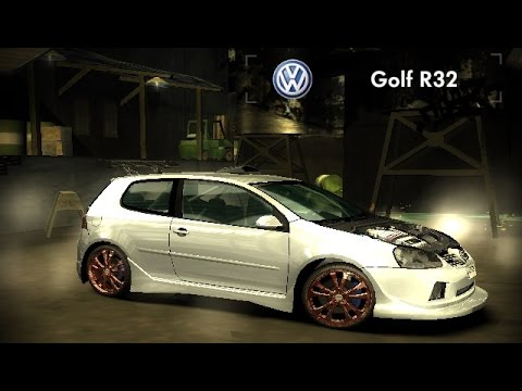 Nfsmw 2005 Golf R32 Modfye Youtube