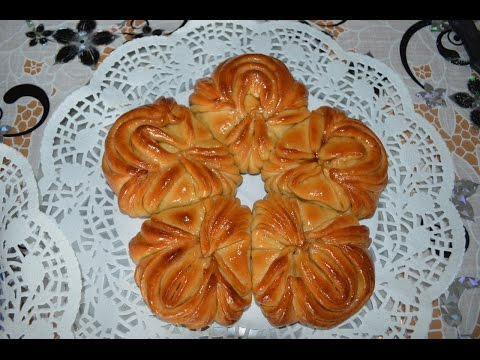 Сдобная-булочка-пятиконечная-звездочка./meine-idee/my-idea/-flower-bread/-@valentina-zurkan