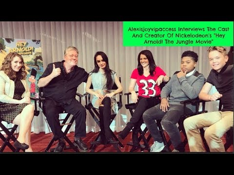 Hey Arnold: The Jungle Movie Cast Interview With Alexisjoyvipaccess
