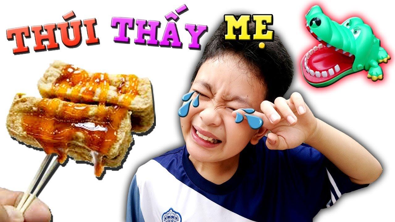 Tony | Trò Chơi Cá Sấu Ăn Đậu Hủ Thúi – Eat Stinky Tofu