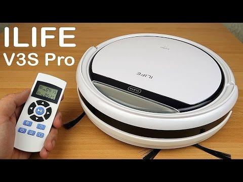 Робот пылесос ILIFE V3S Pro - Самый полный обзор и тесты!