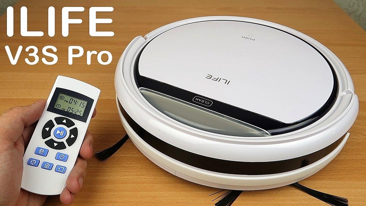 Робот пылесос ILIFE V3S Pro — Самый полный обзор и тесты!