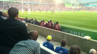 South Africa v Japan  RWC 15 - Japans Winning Try
