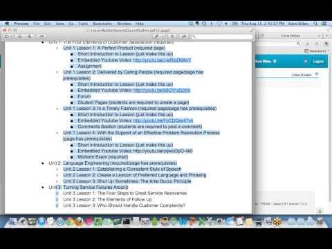 Training Webinar - Sakai Lesson Builder 8 15 13 2 00 PM