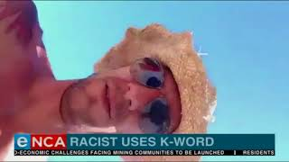 Racist business man fired after k-bomb