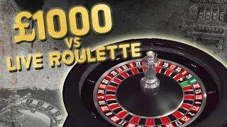 £1,000 vs Live RouĮette BIG Win???