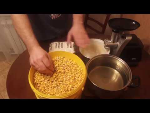 Самогон из кукурузы без дрожжей в домашних условиях